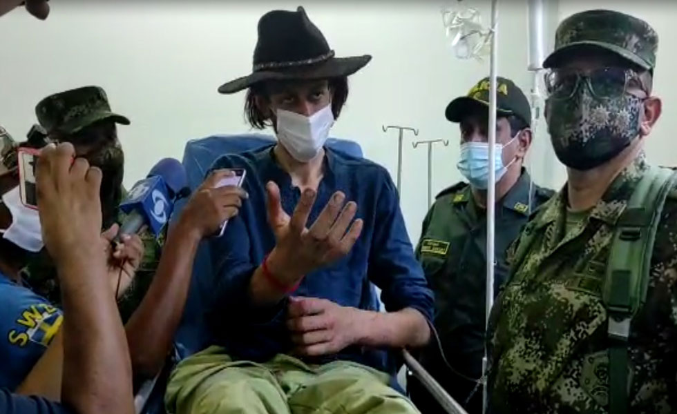 image for Turista alemán perdido en la región amazónica es rescatado por el Ejército