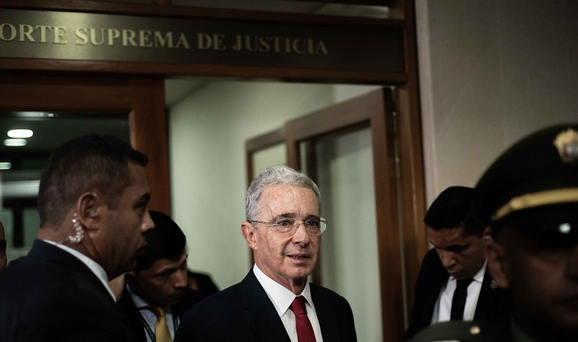 image for Corte acaba de notificar a defensa de Uribe