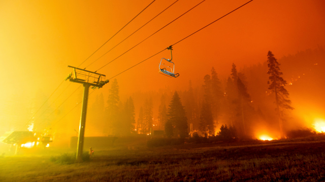 image for Evacuation orders issued in South Lake Tahoe