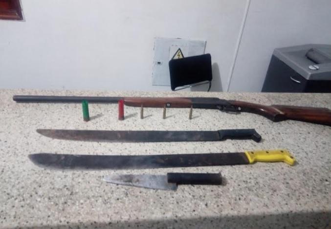 image for Capturas  por porte ilegal de arma de fuego y accesorios