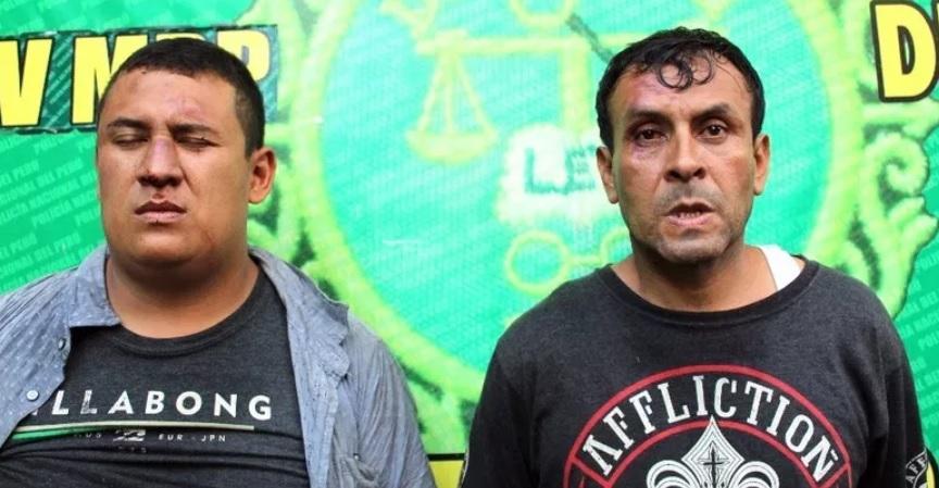 Dos personas capturadas en una foto