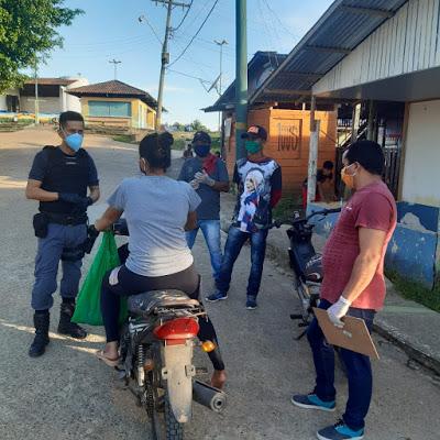 image for Policia Militar apreende 16 motos que transitavam depois do toque de recolher