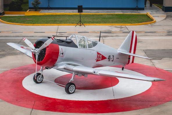 image for Emblemática aeronave North American 50