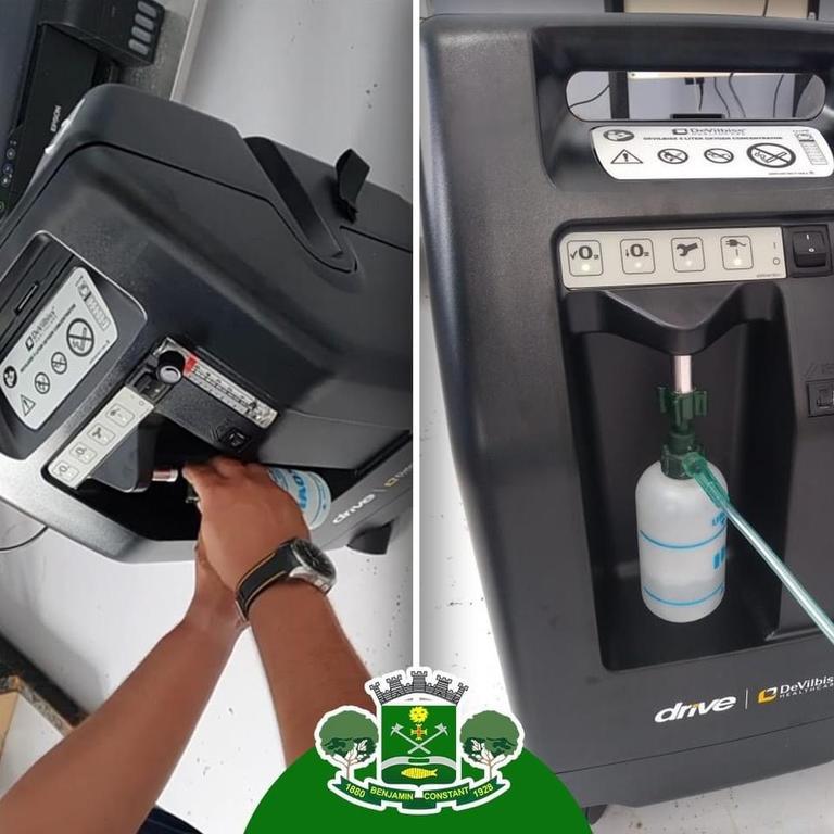 image for Hospital Melvino de Jesus recebeu 4 concentradores de oxigênio