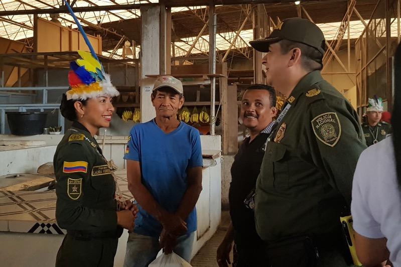 image for Policía hace presencia en Puerto Nariño