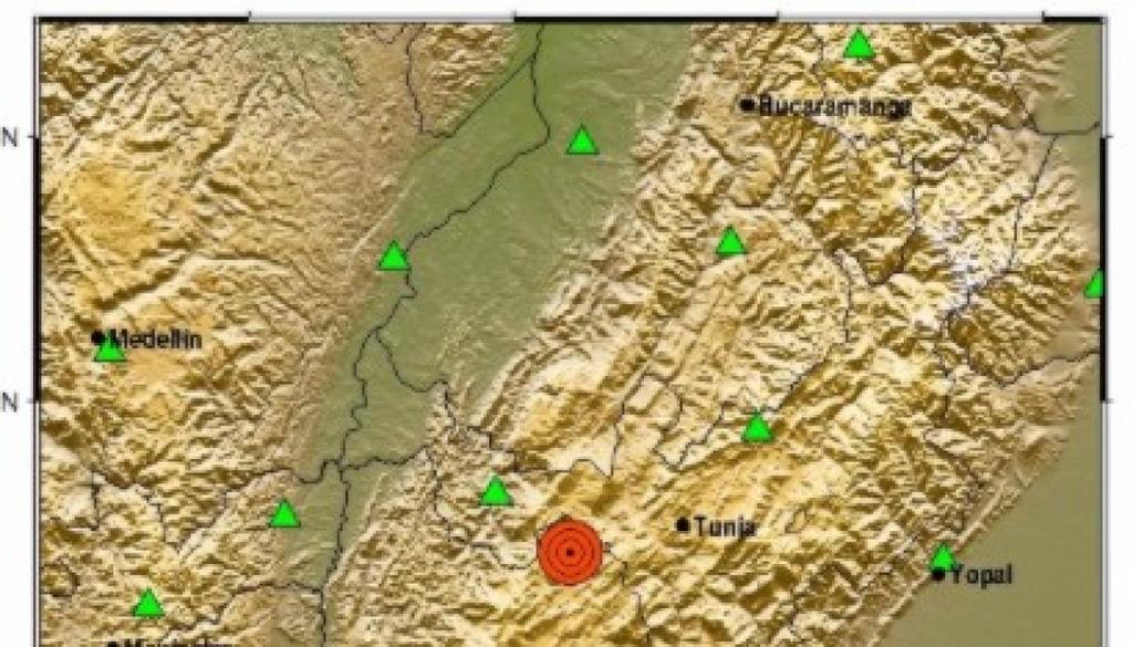 image for Dos sismos se presentaron en las últimas horas