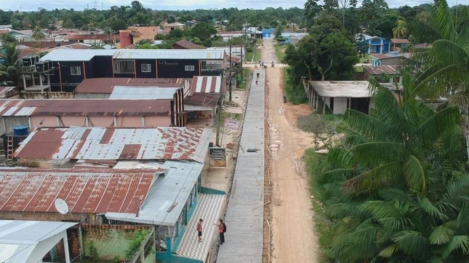 image for Rua Fábio Lucena melhorar o acesso de pedestres e veículos automotores