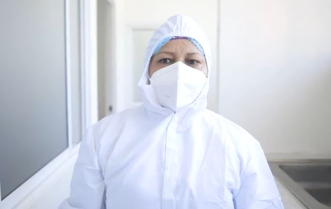 image for Verónica Machado será  la primera mujer vacunada