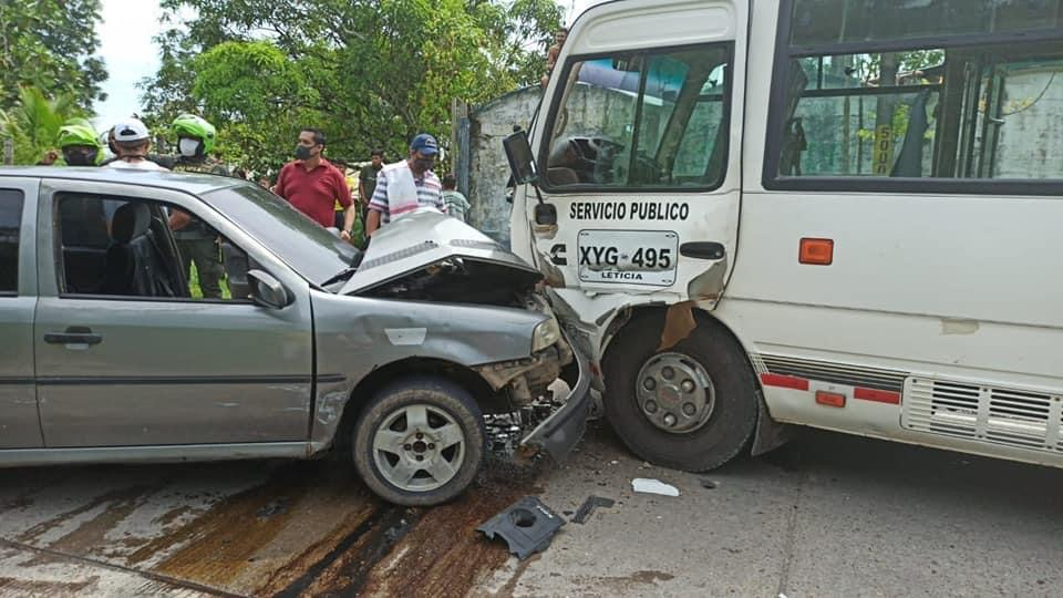 image for Accidente en la vía Leticia-Tarapacá