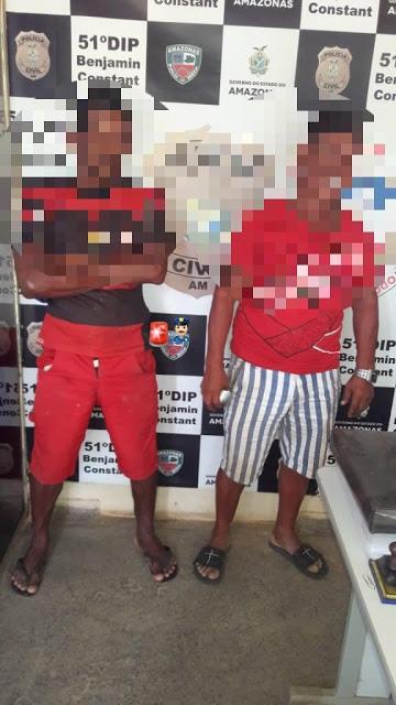 image for Homens são presos por brigar no Porto de Benjamin Constan