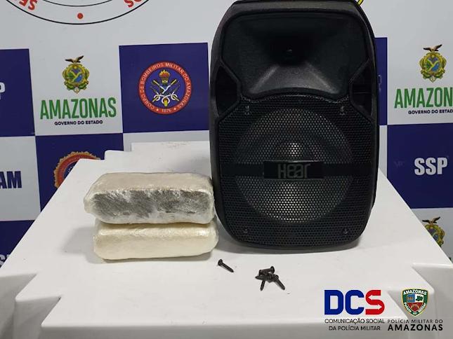 image for Polícia Militar apreende drogas em embarcação de passageiros