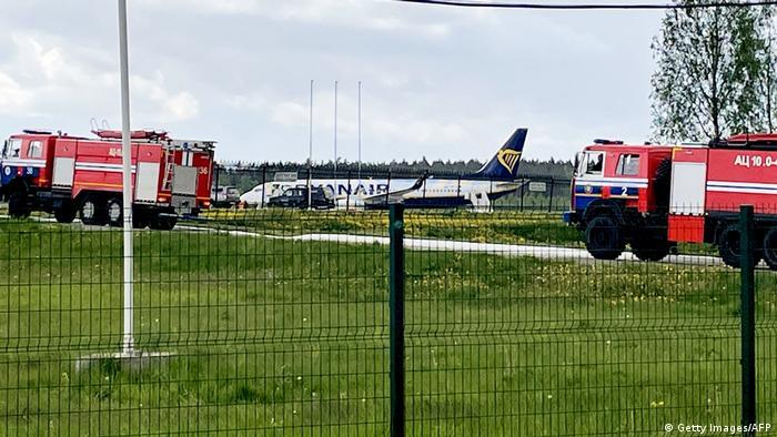 image for Avión a aterrizar y arresta a periodista crítico en Bielorrusia