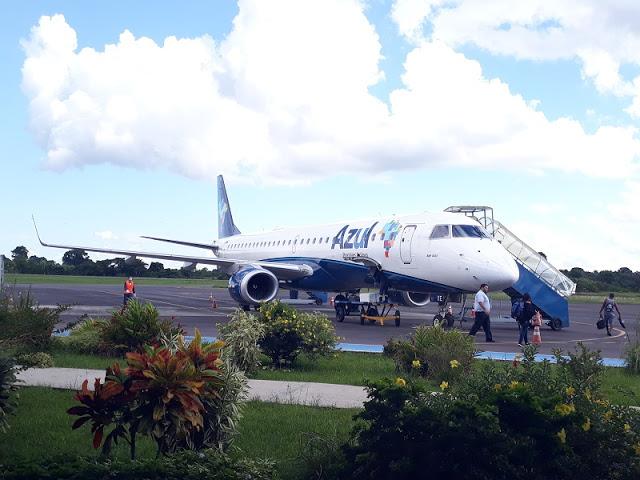 image for Alteração nos voos da Azul em Tabatinga