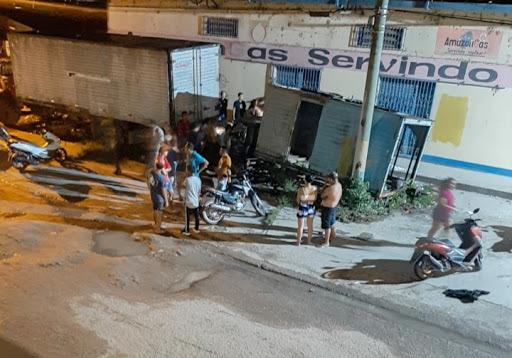 image for Tiros na Pedro Teixeira essa madrugada de hoje quarta-feira
