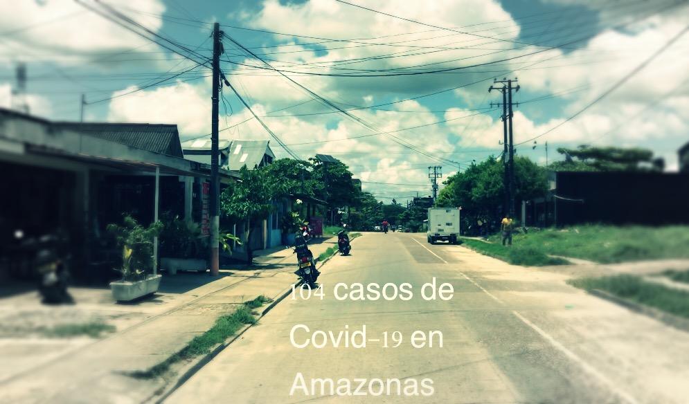 image for Sube a 104 los contagiados por Covid-19  en la capital Amazonense