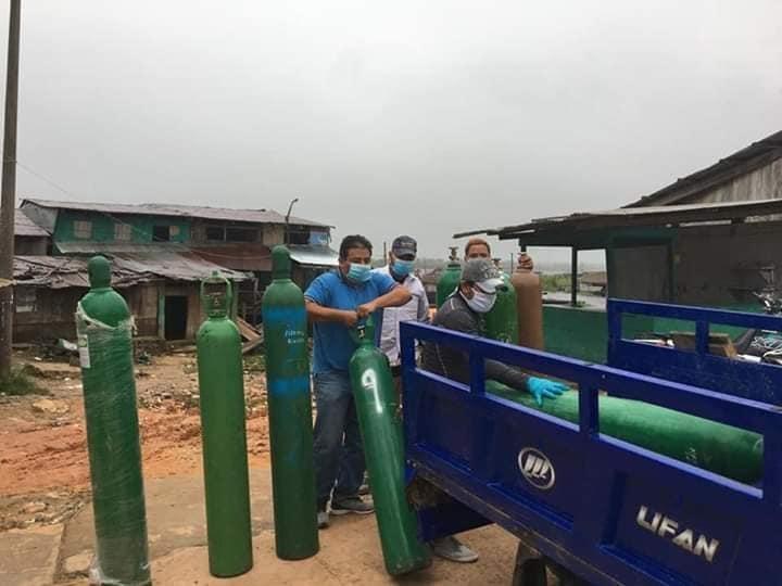 image for Balones de oxígeno llegan a la provincia de Requena
