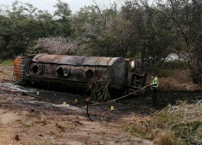 image for Asciende a 36 el número de muertos por explosión de camión en Tasajera