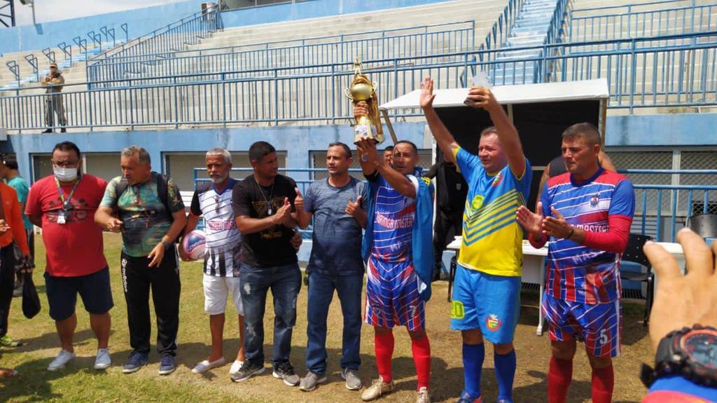 image for Seleção de futebol de Tabatinga CAMPEÃ da Copa dos Rios Máster