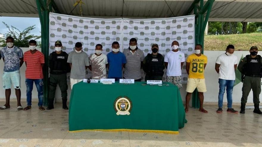 image for Capturaron a nueve miembros del Clan del Golfo / Sucre