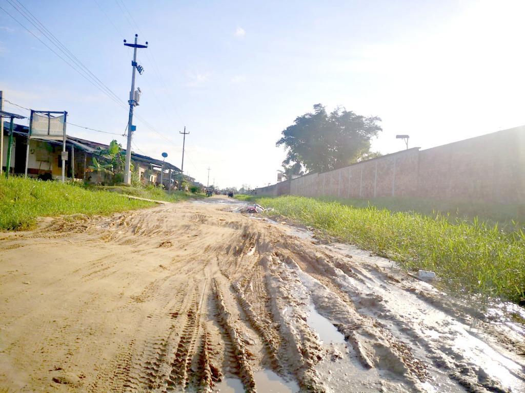 image for Exigen arreglo de la carretera / Pobladores de Santo Tomás