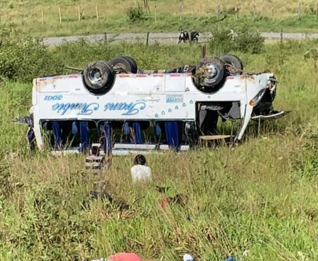 image for Cuatro muertos dejó accidente de tránsito en Cauca