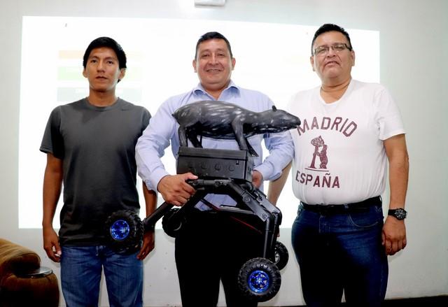 image for Crean sistema robótico para inventario de mamíferos en bosques amazónicos