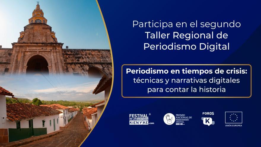 image for Taller de Periodismo Digital rumbo a Caldas Santander y Bolívar