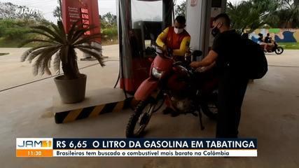 image for Tabatinguenses atravessam a fronteira atrás de combustível mais barato