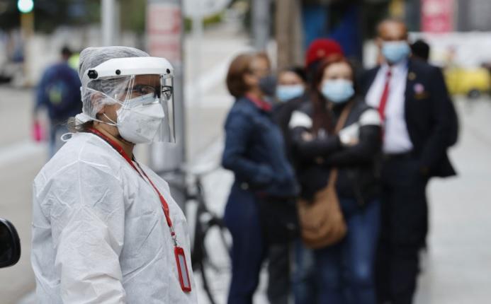 image for Colombia registra 1822 casos de covid
