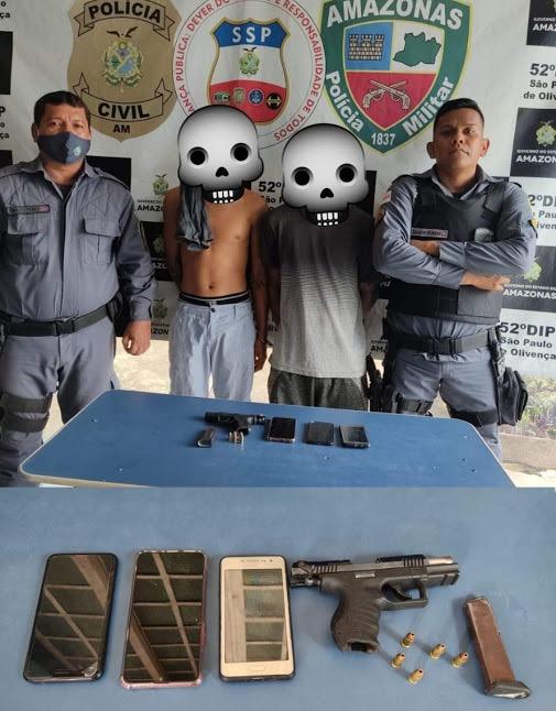 image for Polícia Militar apreende dupla suspeita de roubo