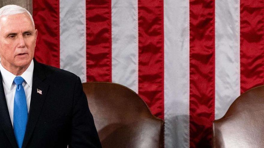 image for Pence rechaza invocar la Enmienda para destituir a Trump