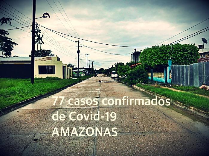 image for 77 casos de Covid-19 registra el Amazonas