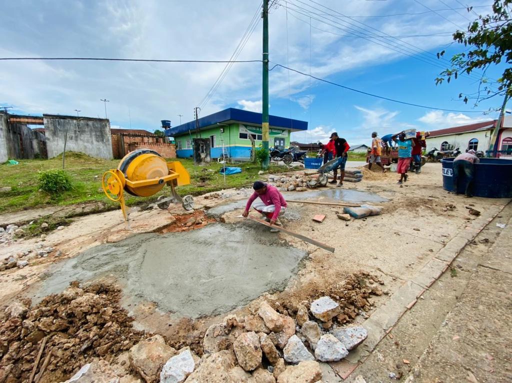image for Operação tapa-buracos e ações de limpeza urbana