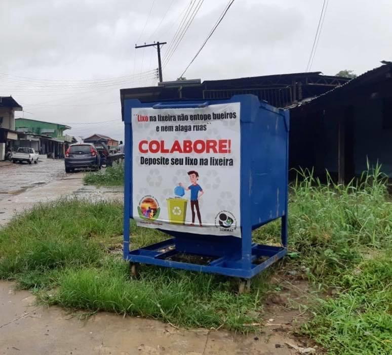 image for Lixo na lixeira não entope bueiros e nem alaga ruas