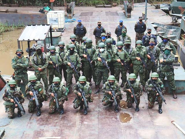 image for Grupamento de fuzileiros navais realiza treinamento no Alto Solimões