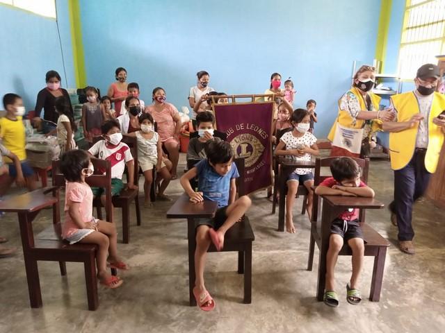 image for Municipalidad de San Juan implementa mobiliario escolar a colegio