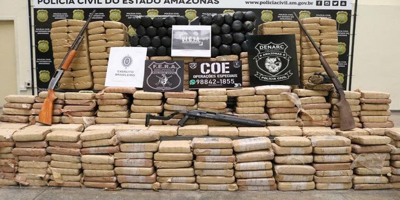 image for Polícia apreende meia tonelada de drogas / Maraã