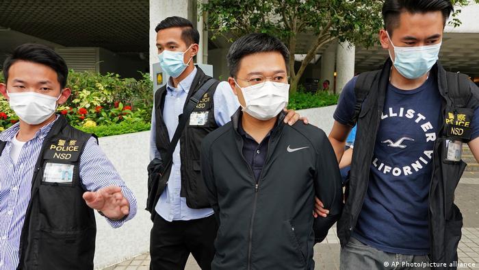 image for Policía de Hong Kong allana diario prodemocrático Apple Daily