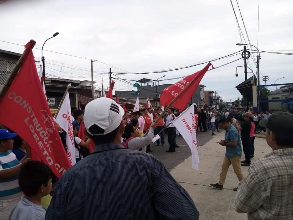 image for Continúan protestas en contra de Electro Oriente