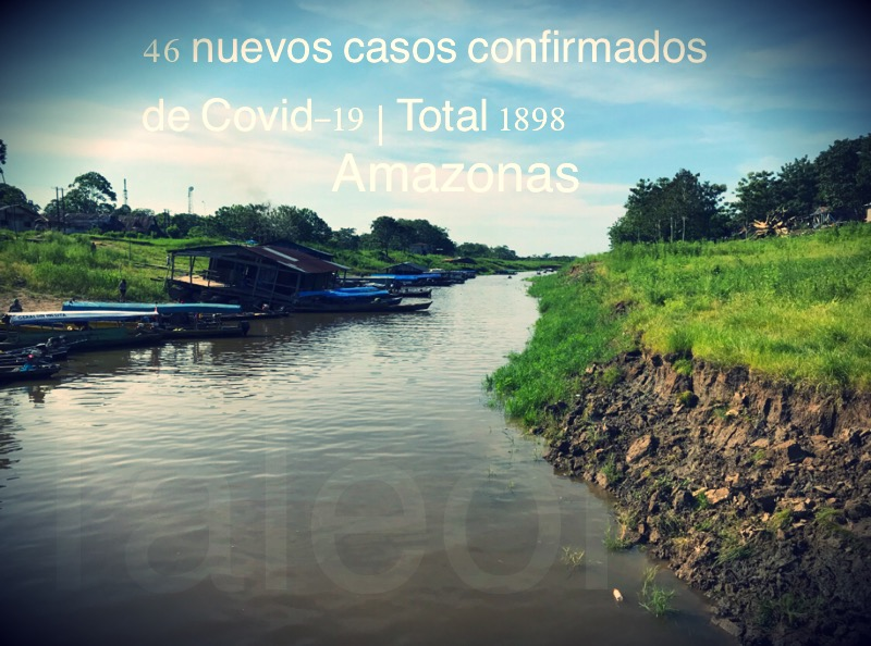 image for 46 nuevos casos confirmados de Covid-19 | Total 1898