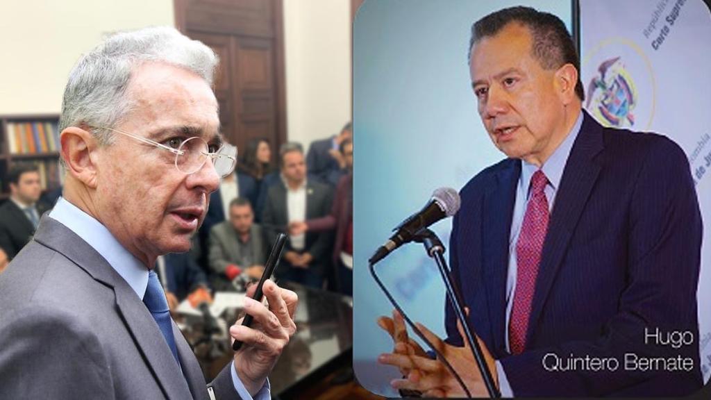 image for Álvaro Uribe critica a Quintero Bernate