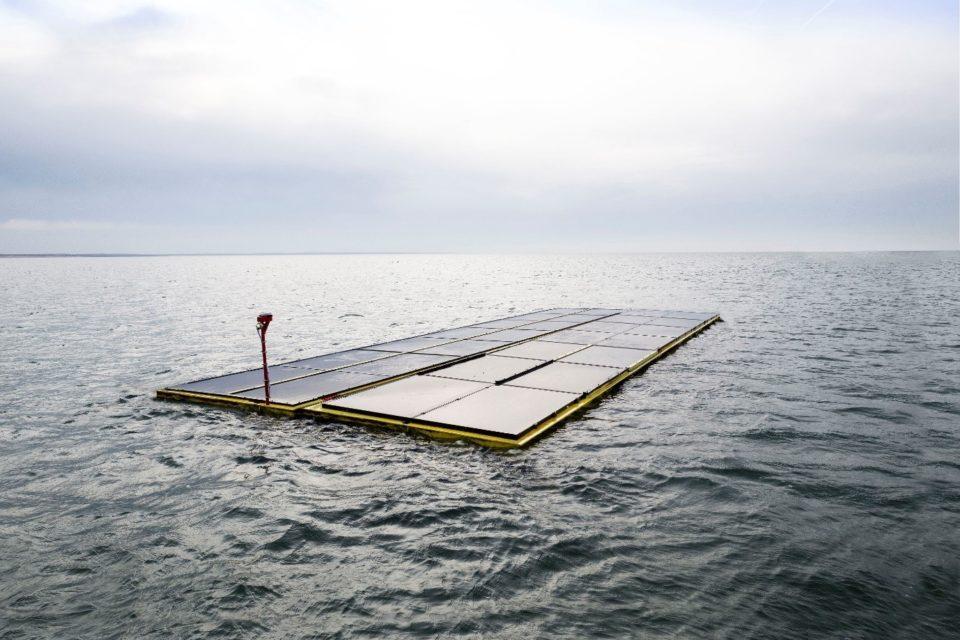 image for Holanda genera energía limpia con una planta solar en el Mar del Norte