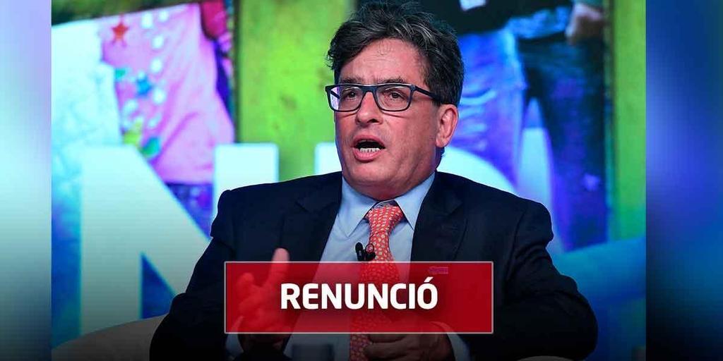 image for Renuncia ministro de Hacienda