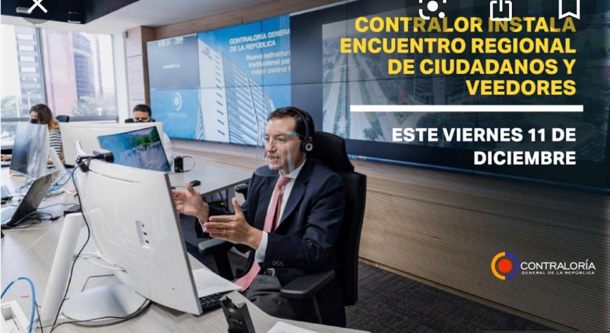 image for Contralor instala Encuentro Regional de Ciudadanos y Veedores