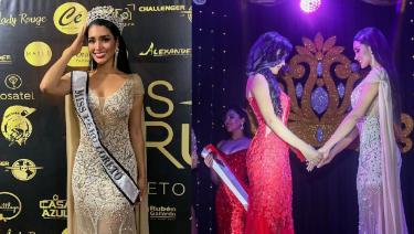 image for Candidata a Miss Perú eliminada por no saber hablar inglés fluido