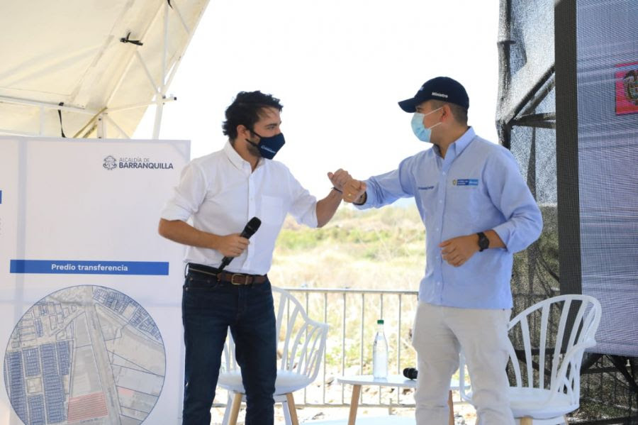 image for Ministro de vivienda y su gestión en Barranquilla