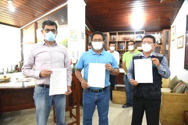 image for Gobierno regional firma convenio con Petrotal