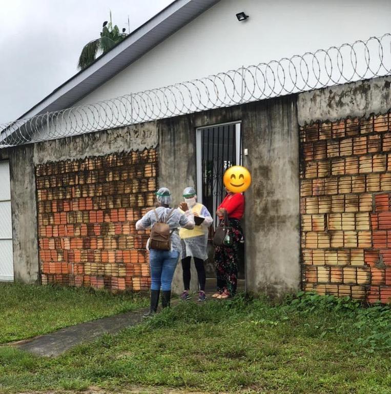 image for Busca ativa dos possíveis infectados do covid-19 nas residências do município