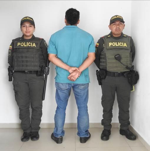 image for Por falsedad marcaria fue capturado sujeto durante operativo en el barrio Centro