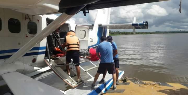 image for Fuerza Aérea evacuó paciente con atención de urgencia